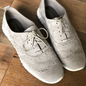Cole Haan Zero Grand wingtip oxford in Ironstone